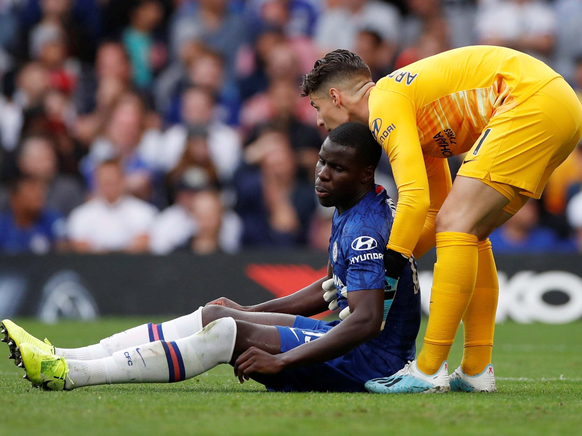 Lampard Backs Zouma After Suffering Racial Abuse On Twitter