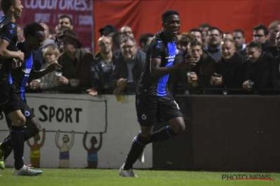 Okereke Scores sixth goal of the season for Club Brugge