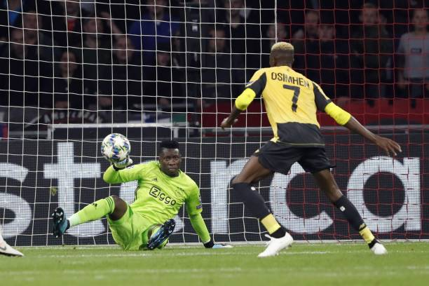 Victor Osimhen's UCL debut ends in defeat