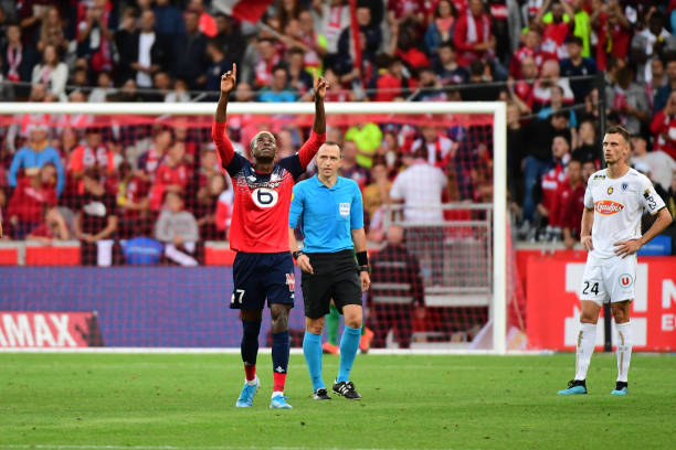 Man on Fire! Osimhen grabs goal number Five in Lille's win over Anger