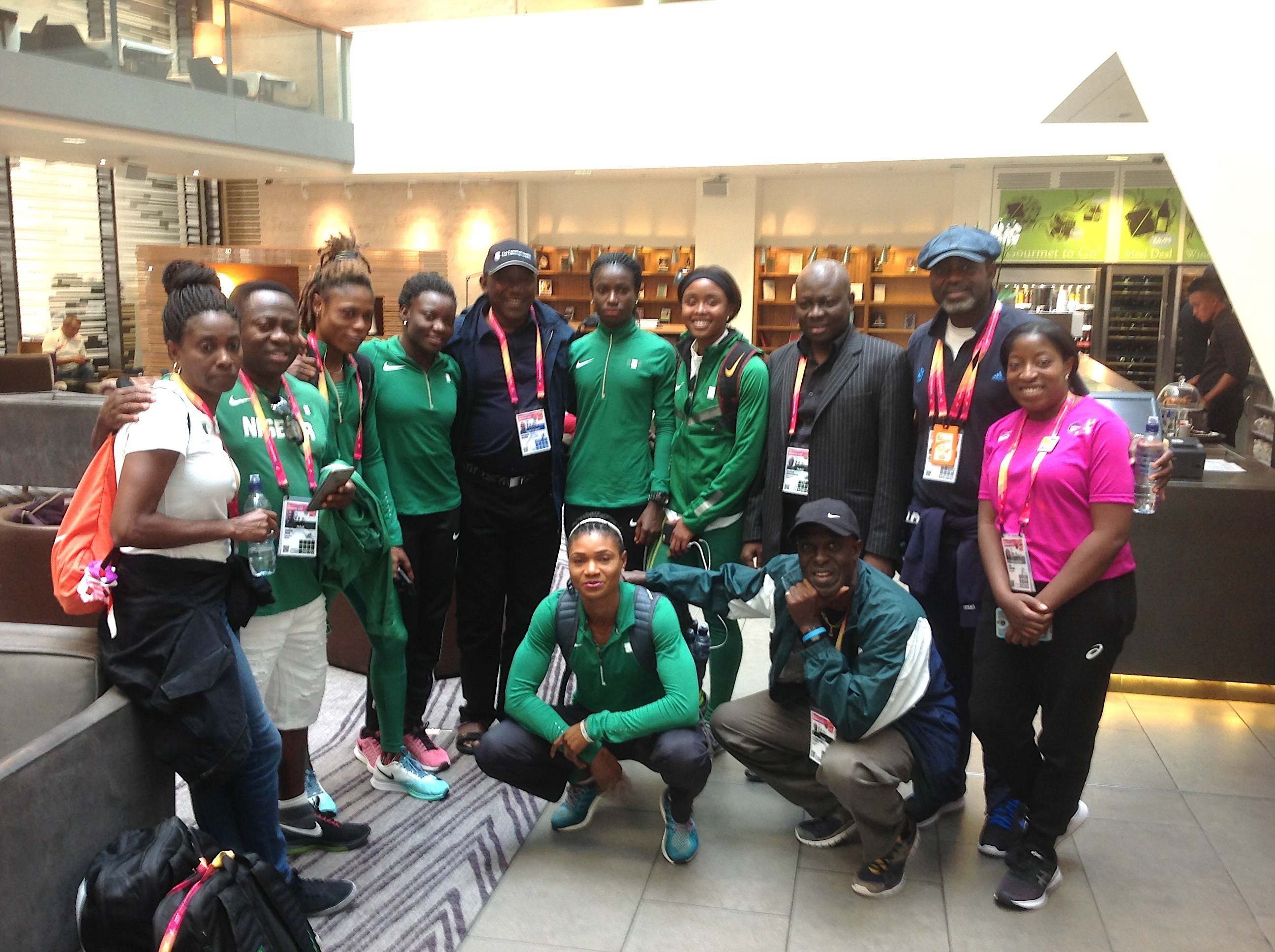 Okon sees a bright future for Athletics in Nigeria