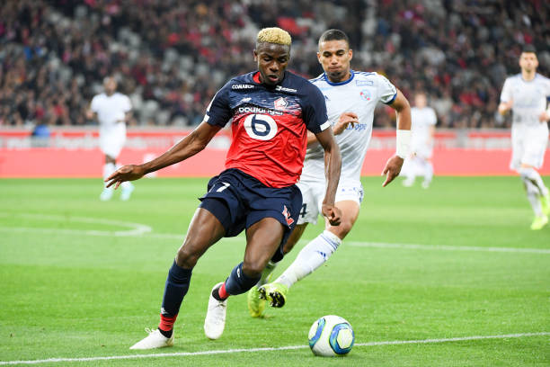 Victor's Party! Super Eagles hitman fires Lille to victory