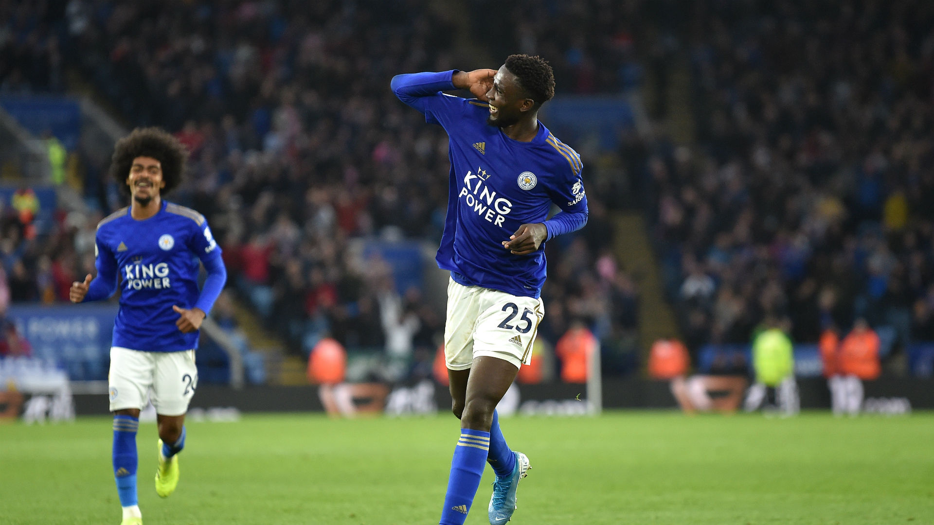 Wilfred Ndidi hails Leicester City Boss Rodgers