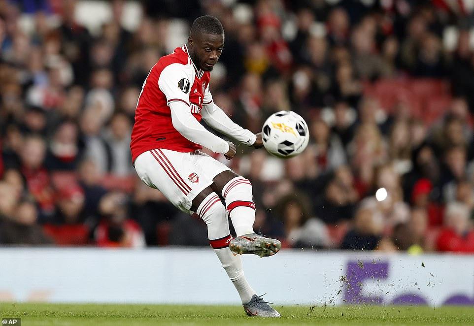 How Pepe Masterclass Help Arsenal Overcome Vitoria Guimaraes