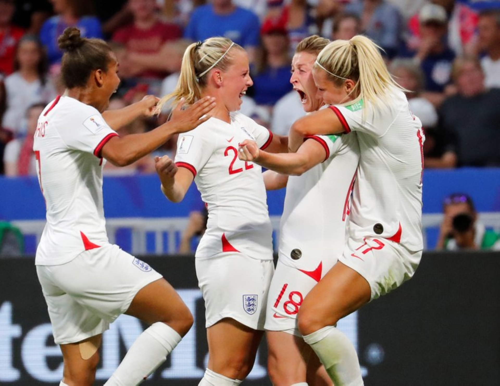 England women fit set chacha record
