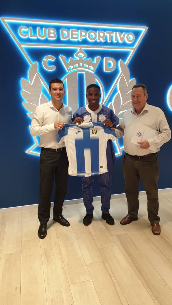 Spanish La liga club Leganes officially unveil Success Makanjuola