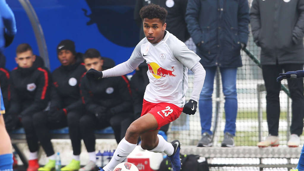 17 year old Karim Adeyemi scores in RB Leipzig's defeat to Liverpool