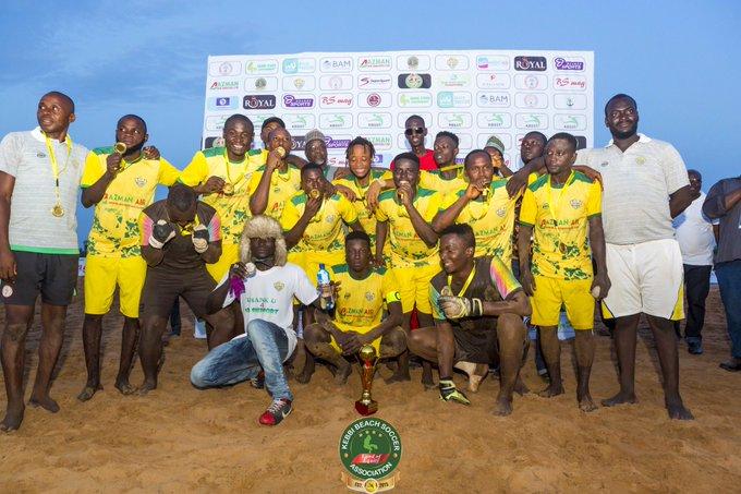 Kebbi Beach Soccer club await first win