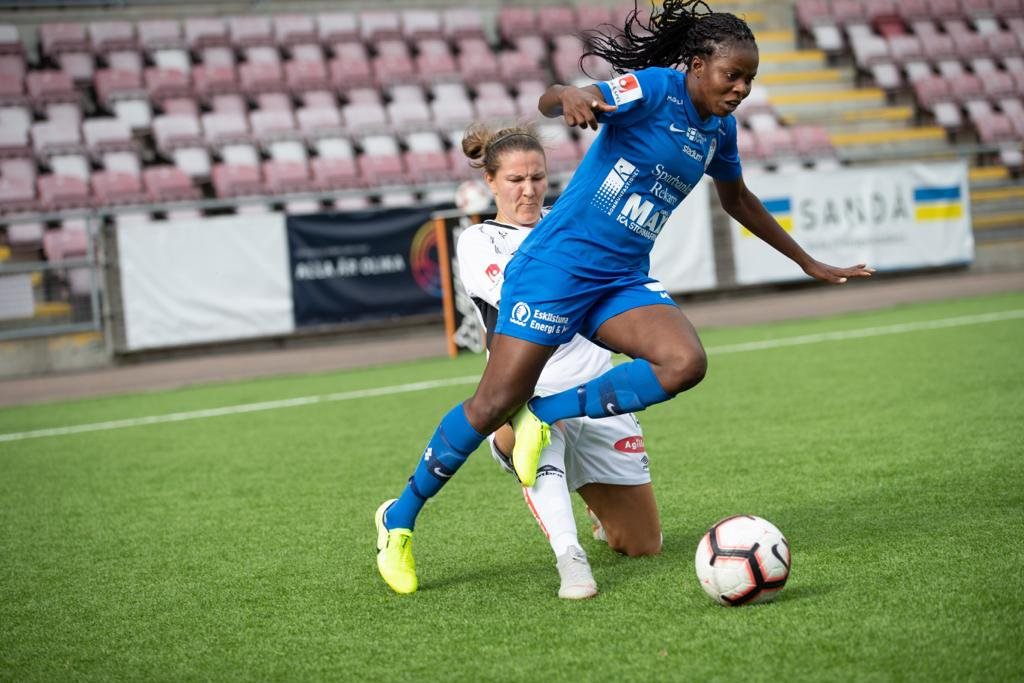 Okobi's winner keep Eskilstuna United's Champions league hope alive
