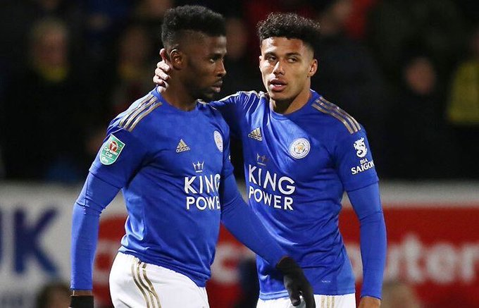 Iheanacho scores for Leicester City in Carabao Cup
