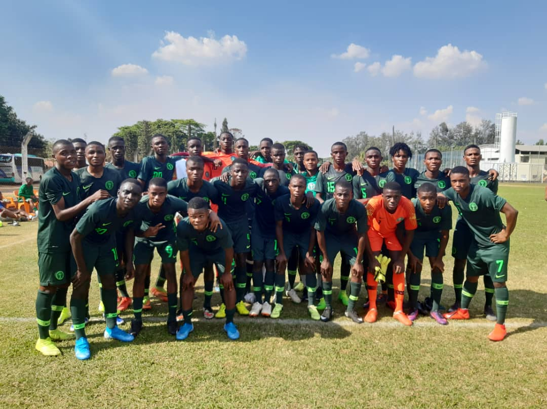 Eaglets lose 1-2 to Sao Paulo FC in friendly
