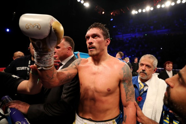 Usyk waka for heavyweight division no sure