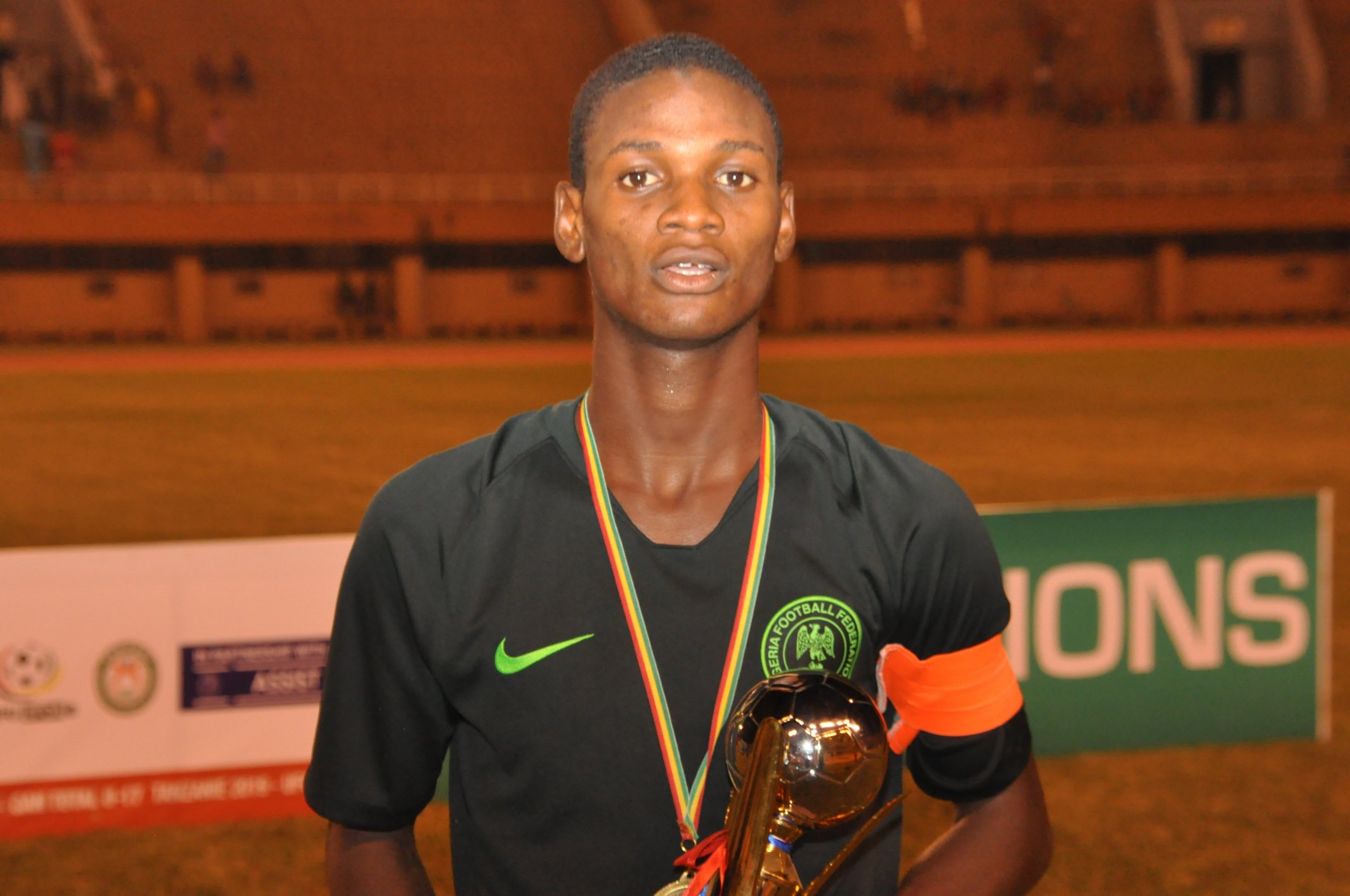 U17 World Cup: Goiania weather will not stop us against Hungary, says Tijani
