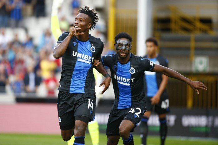 Dennis and Okereke's Club Brugge Suffer Heavy Defeat In UCL