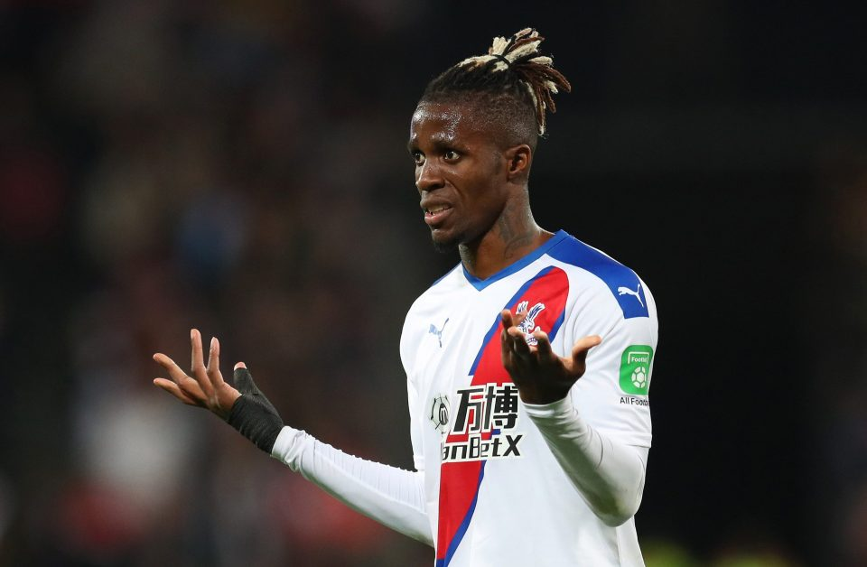 Wilfred Zaha rubbishes claim about legal wrangle with agent