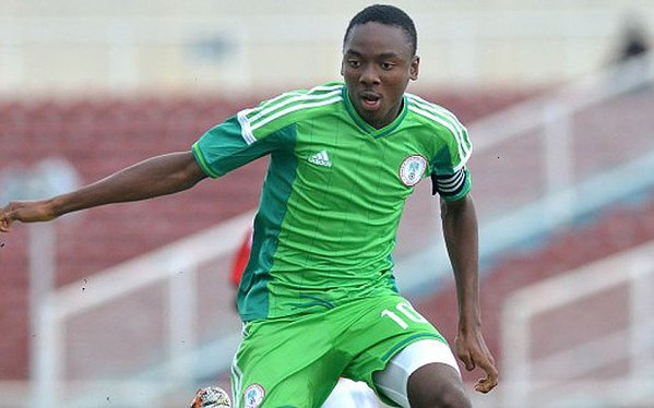 Nwakali To Captain The Olympic Eagles against Cote d'Ivoire