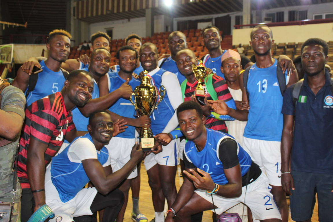 Volleyball: Sunshine Spikers, Super Force champions of Division one league