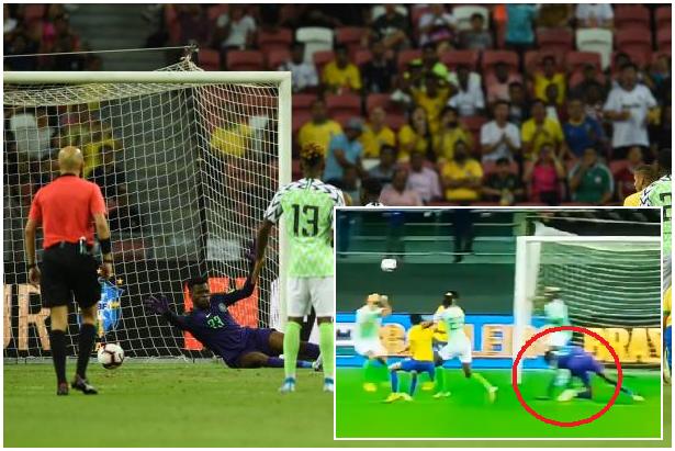 Brazil 1-1 Nigeria: Casemiro cancels Aribo's goal as Selecao hold Super Eagles in Singapore