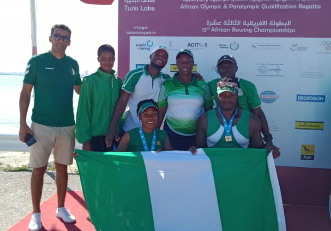 Nigeria Rowing and Canoeing pick Olympic, Paralympic Tickets