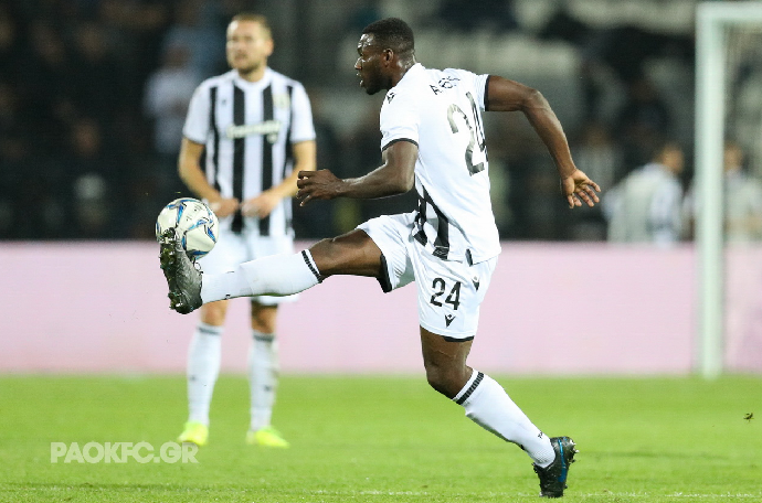 Esiti gets minutes, Akpom Benched in PAOK's 3-0 win Over Lamia