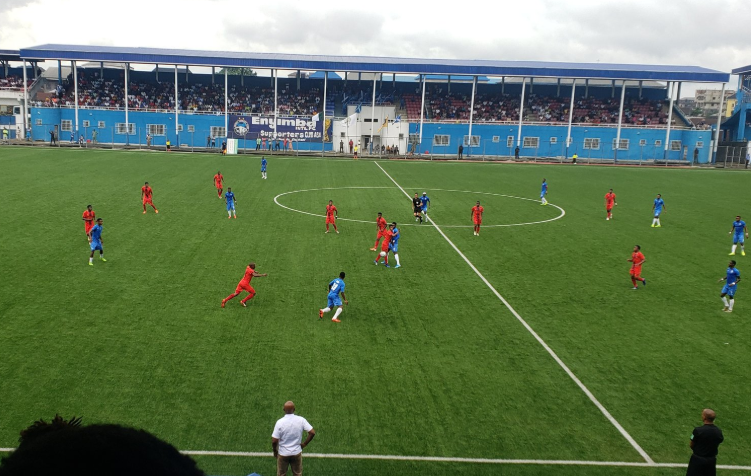 Enyimba New Boy Puts TS Galaxy to the Sword in CAF CC First-leg Win