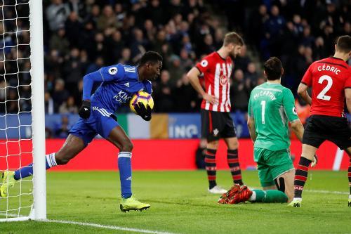 Ndidi shines in Leicester's 9-0 thrashing of Southampton