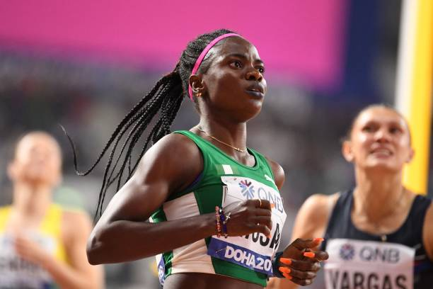 Commonwealth Champion Amusan falls short in Doha, finishes 4th in Hurdles Final