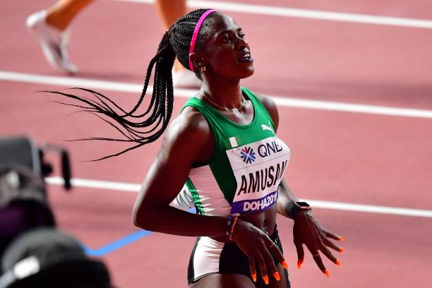 Amusan ends Nigeria's 20-year wait to Reach 100m Hurdles Final
