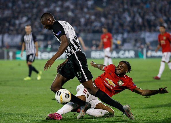 Umar shines for Partizan Belgrade against Man United