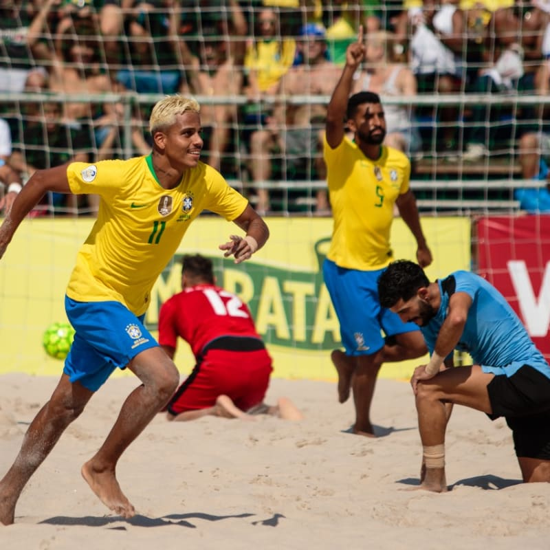 BRAZIL NATIONAL BEACH SOCCER TEAM ANNOUNCE SQUAD FOR COPALAGOS