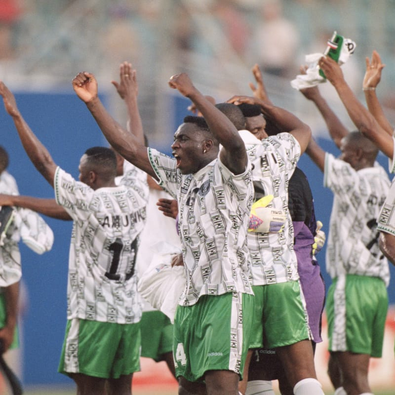 'Eagles can't have a stable squad like the 1994 set again', says Sam Sodje
