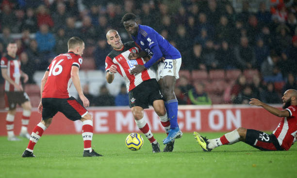 Ndidi loses top tacklers lead position in EPL