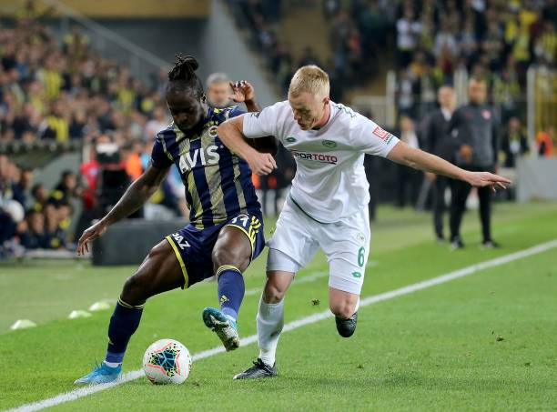 Moses return from injury lay off to feature in Fenerbahce's win over Konyaspor
