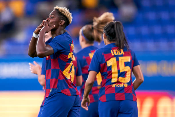 'Having the African best player in my team means a lot'– Barcelona coach Cortes pays tribute Oshoala