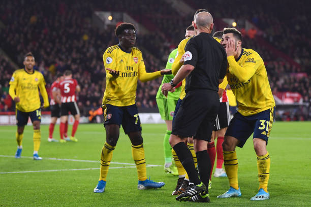 Saka's best Arsenal performance dented by defeat