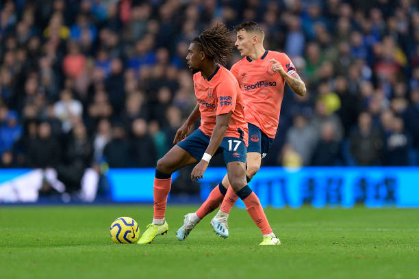 Iwobi's Everton stunned in late Brighton's come back