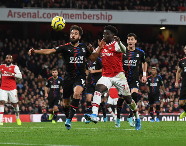 Saka caught in middle of fall out between Arsenal's manager, captain and fans