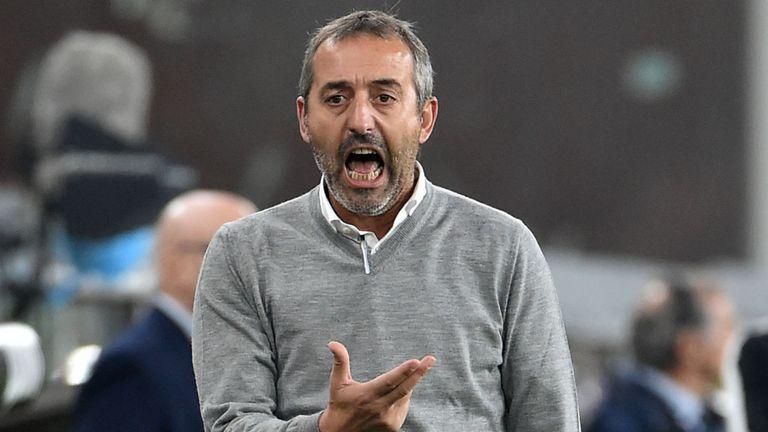 Milan Sack Boss Marco Giampaolo