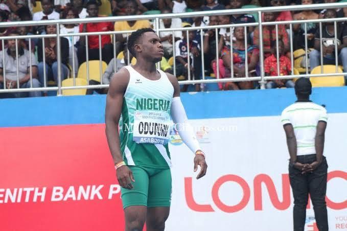 IAAF World Championship: Oduduru Finished 8th In Men's 200m Semi-final