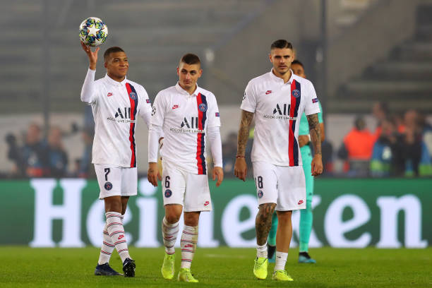 Record-breaking Mbappe outshines Super Eagles Striker in UCL match