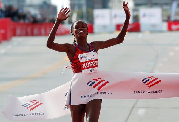World fastest Marathoner plans to break new record- Brigid Kosgei