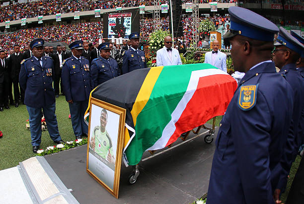 Slain Bafana Bafana Goalie Family want Tombstone Honor