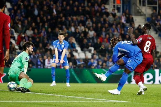 Odey dedicates first Champions league goal to mum