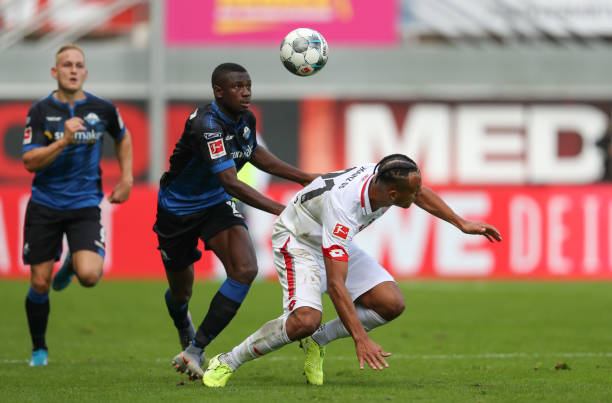 Collins shine in Paderborn's record breaking outing against Hoffenheim