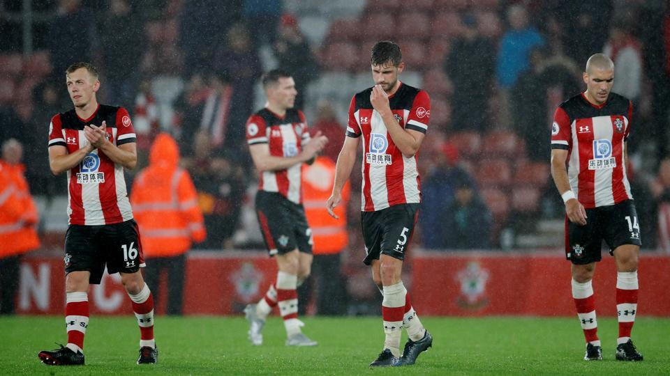 Southampton players reject wages after defeat to Leicester City