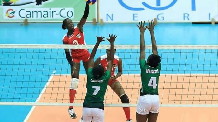 Volleyball Div 1: Nigeria Police detains Imo Babes on Day 6