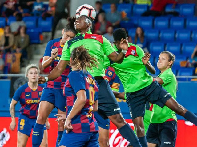 Emueje Ogbiagbevha Outshines Oshoala in UEFA Women's Champions league Clash