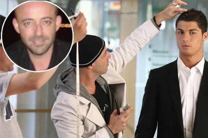 Cristiano Ronaldo's 'hairdresser' Ferreira stabbed to death in Zurich