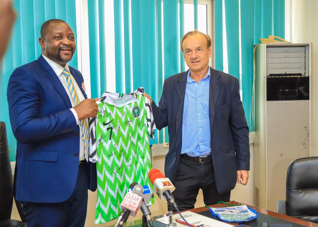 Sports Minister Dare won't interfere in NFF, Rohr contract talks