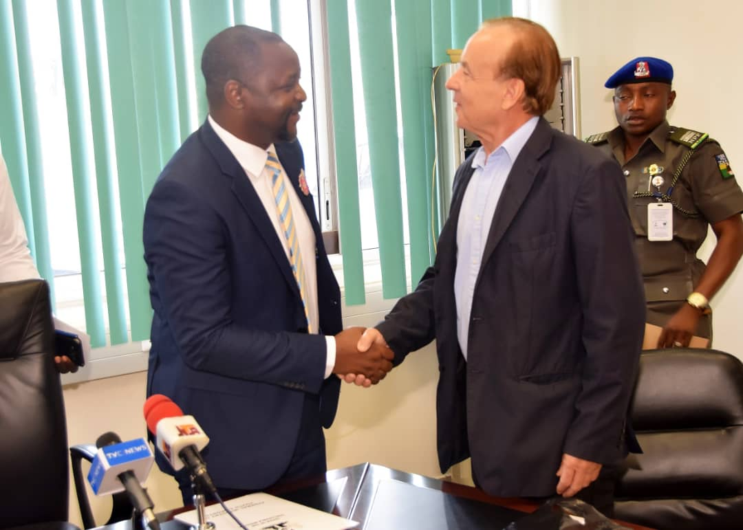 Sports Minister Dare Thanks Rohr For Contribution to Nigerian Football